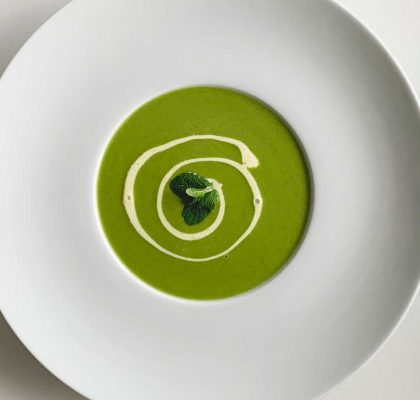 Pea & Mint Soup Image